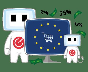 Cofisáček a sazby DPH v zemích EU