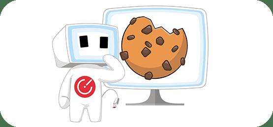 Cofis maskot a cookies