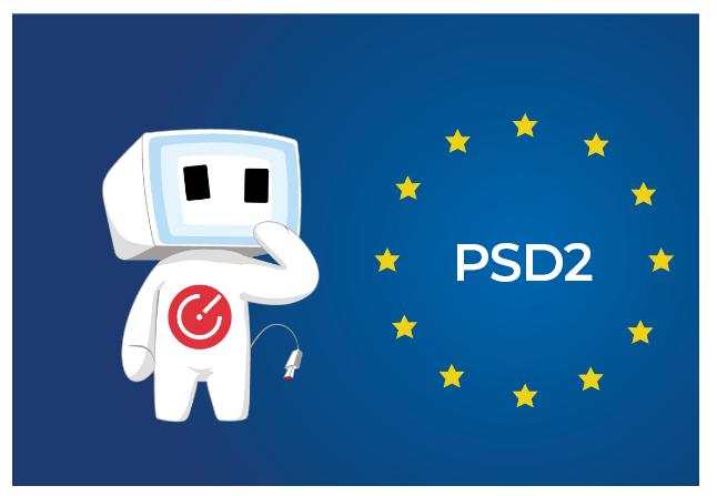 cofis maskot a evropská směrnice o platebních službách na vnitřním trhu (PSD2)